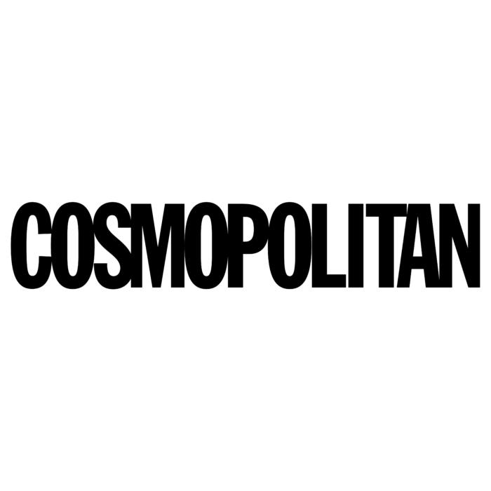 COSMOPOLITAN логотип ч/б