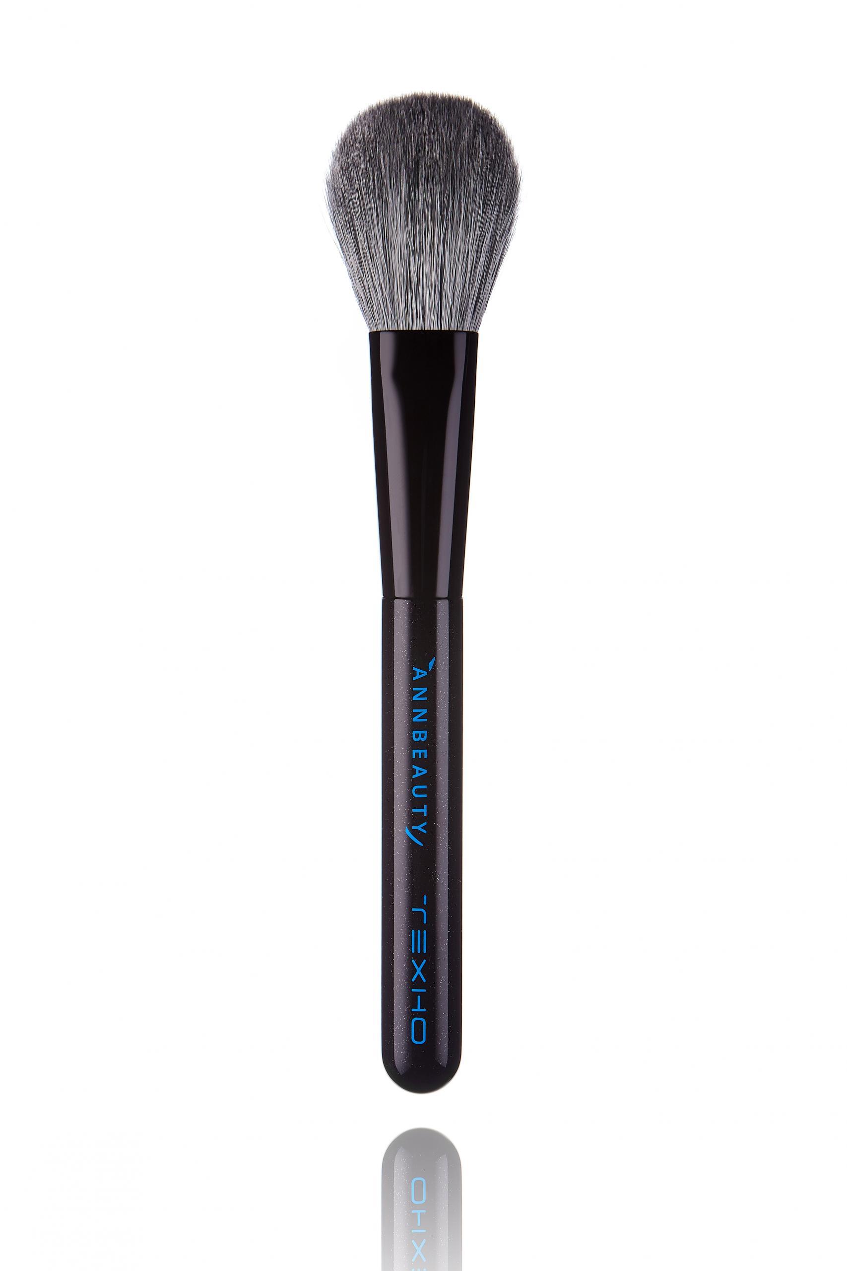 Кисть для сухой и кремовой текстуры румян и пудры Annbeauty T2 - лимитированная коллекция