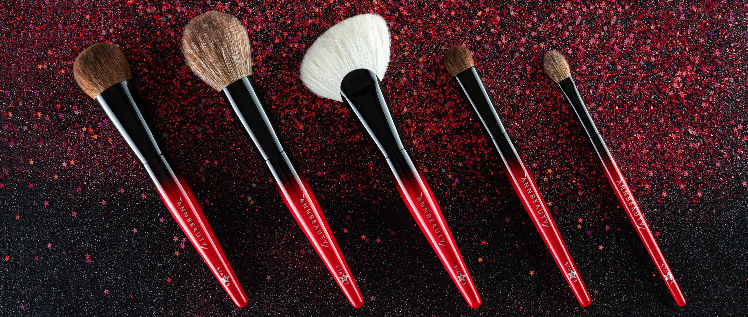 Лимитированная коллекция (набор) кистей для макияжа Annbeauty STARS